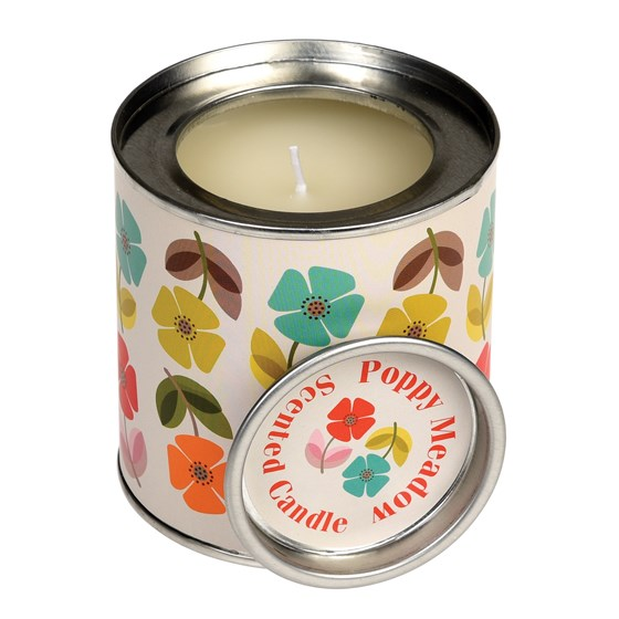MID CENTURY POPPY SCENTED CANDLE