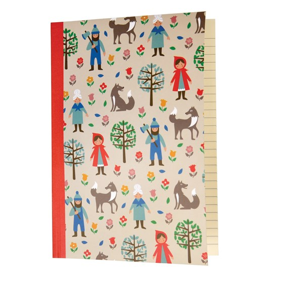 RED RIDING HOOD A5 NOTEBOOK