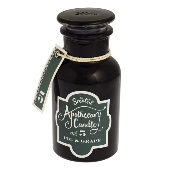 FIG AND GRAPE APOTHECARY CANDLE