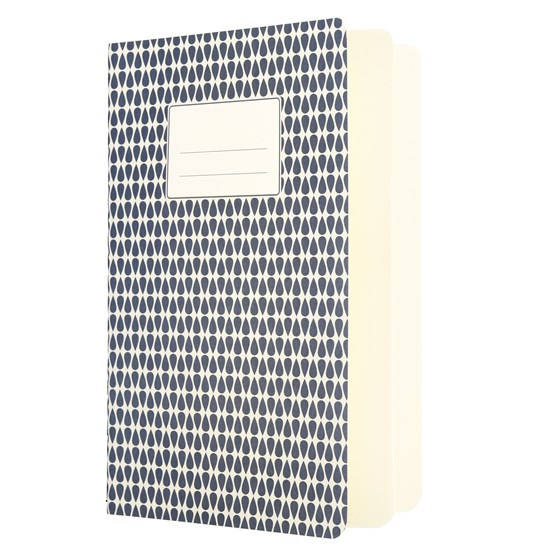BLUE ABSTRACT A5 NOTEBOOK