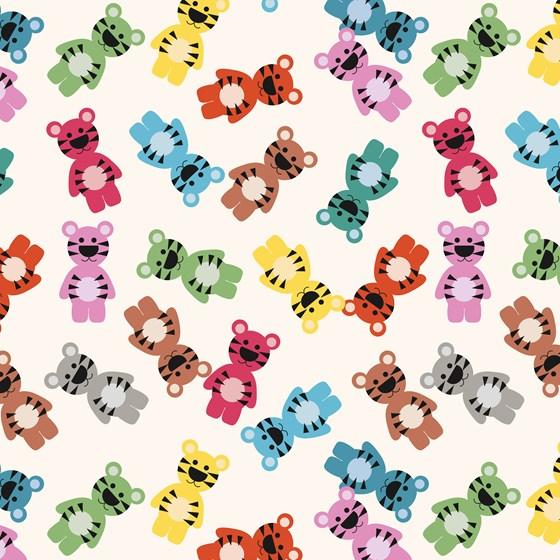JELLY CUBS WRAPPING PAPER