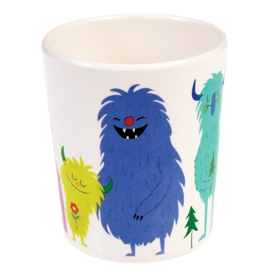 MONSTERS OF THE WORLD MELAMINE BEAKER