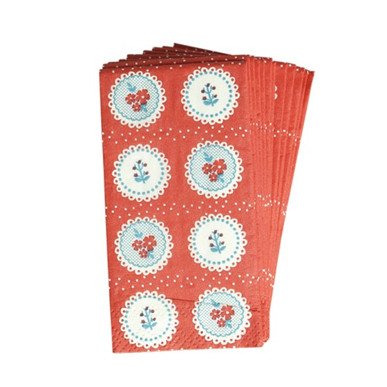PACK OF VINTAGE DOILY TISSUES