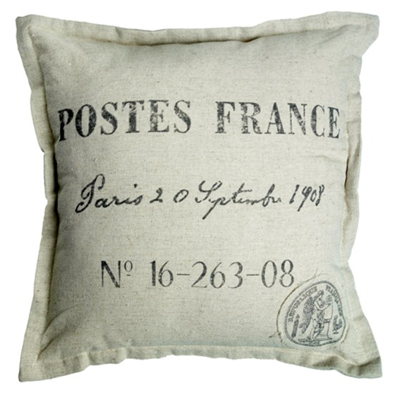 POSTES FRANCE CUSHION COVER