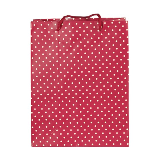 RED SPOT GIFT BAG LARGE