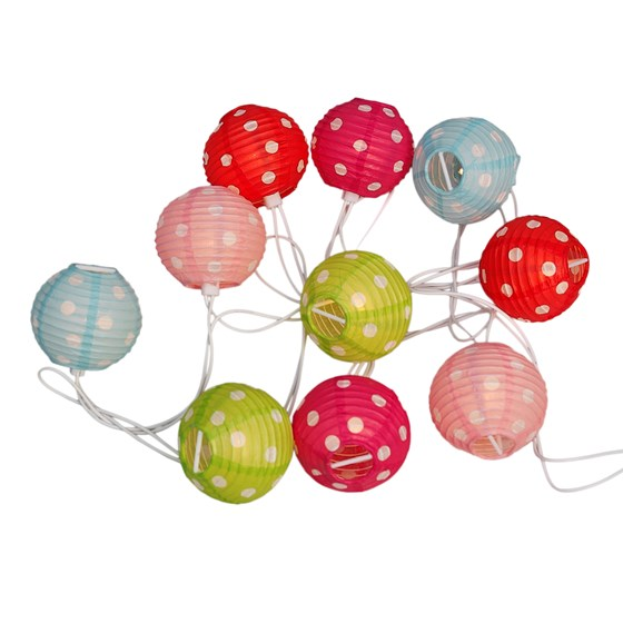CANDY SPOT PARTY LIGHTS WITH BS 3 PIN PLUG