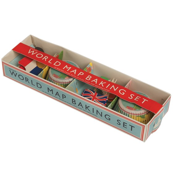 WORLD MAP BAKING SET
