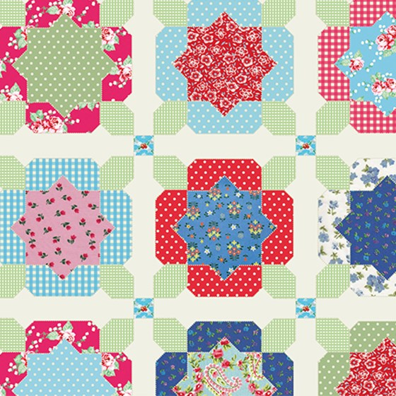 VINTAGE QUILT WRAPPING PAPER