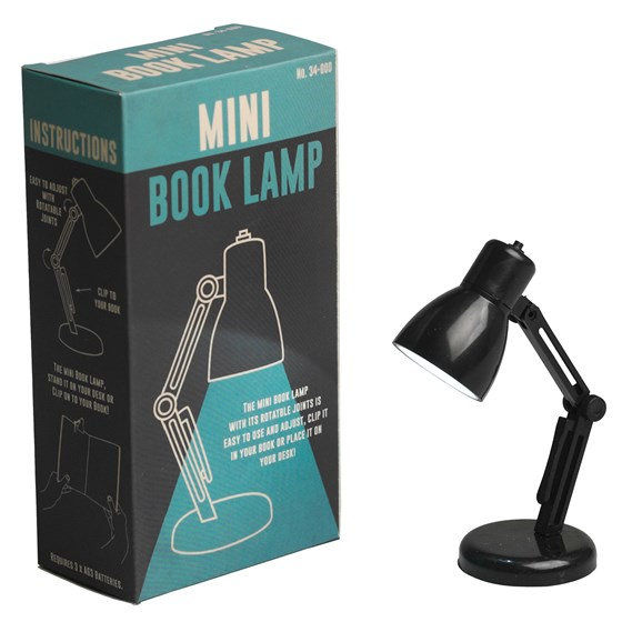 MINI READING BOOK LAMP BLACK