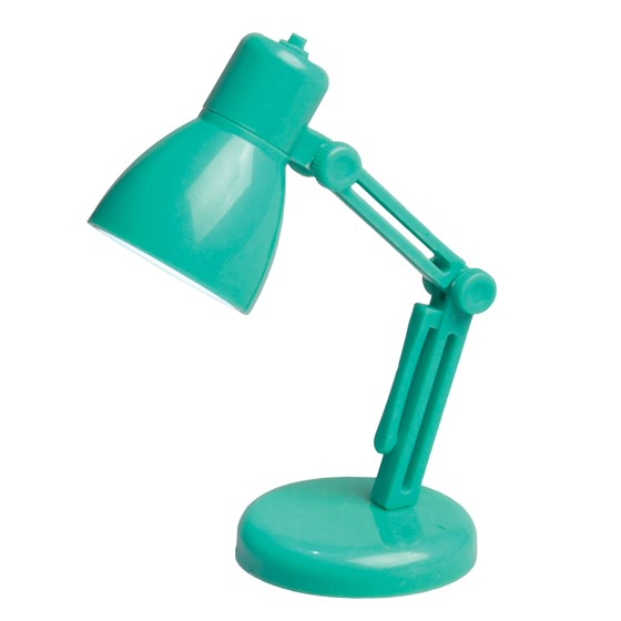 MINI READING BOOK LAMP MINT GREEN