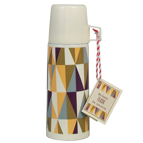 METRO GEOMETRIC FLASK AND CUP