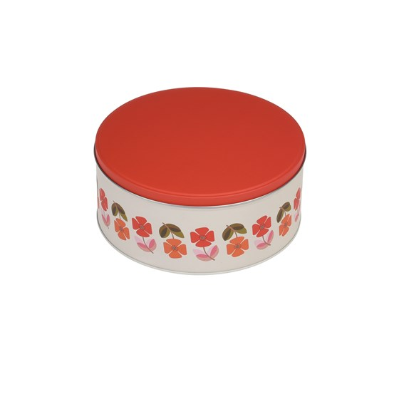 SET OF 3 MID CENTURY POPPY CAKE TINS