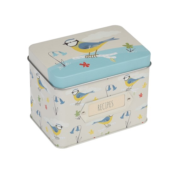 RECIPE TIN BLUE TIT