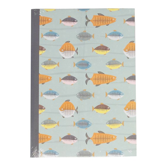 LET'S GO FISHING A5 NOTEBOOK