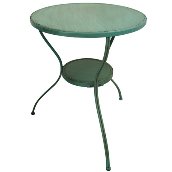 IRON FRENCH CAFE STYLE TABLE