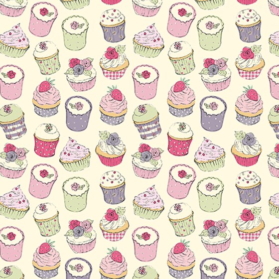 CUPCAKE WRAPPING PAPER