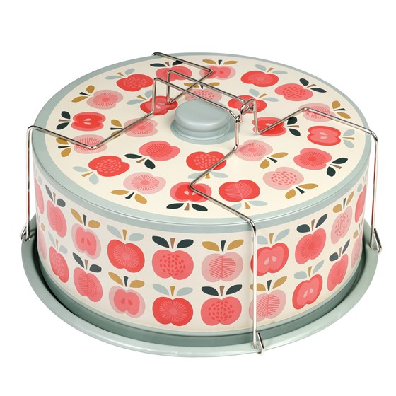 VINTAGE APPLE CAKE CARRIER