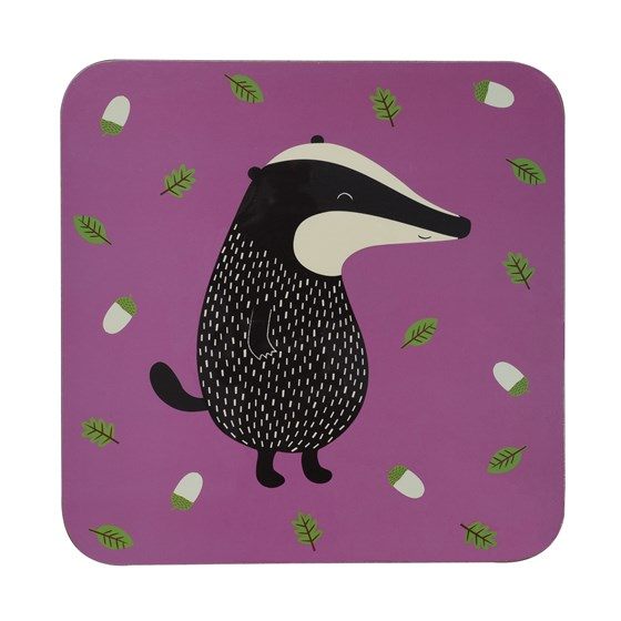 MR BADGER PLACEMAT
