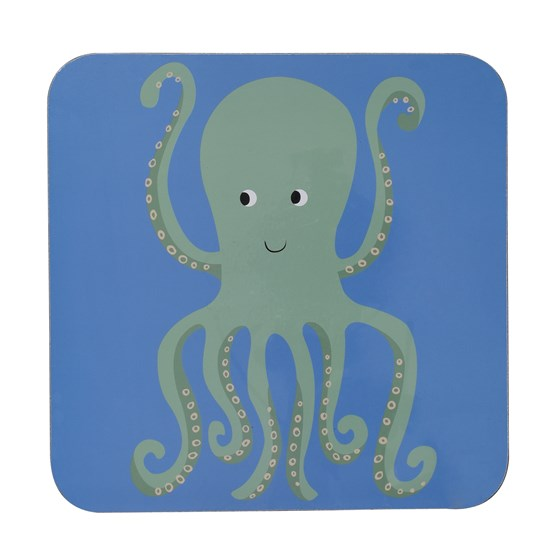 COLOURFUL CREATURES OCTOPUS PLACEMAT