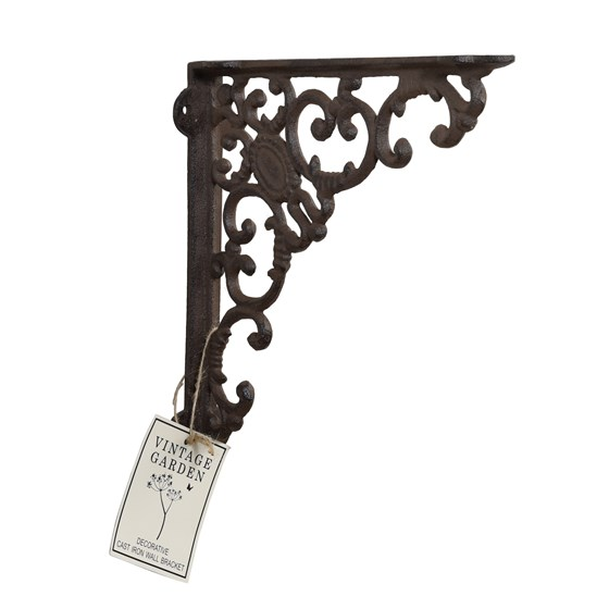 DECORATIVE CAST IRON WALL BRACKET