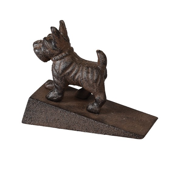 CAST IRON SCOTTY DOG DOORSTOP