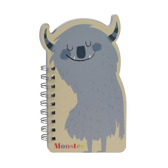 MONSTERS OF THE WORLD SPIRAL NOTEBOOK