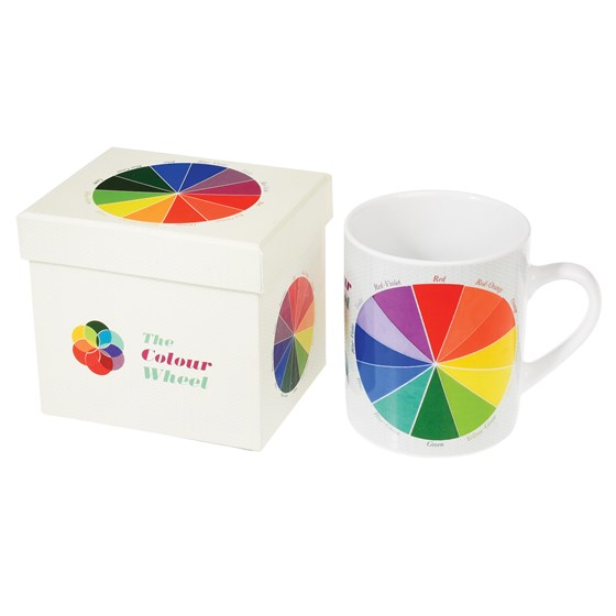 taza en caja regalo colour wheel