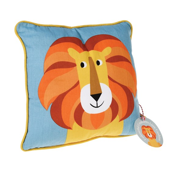 LION CHILDREN CUSHION WITH PAD