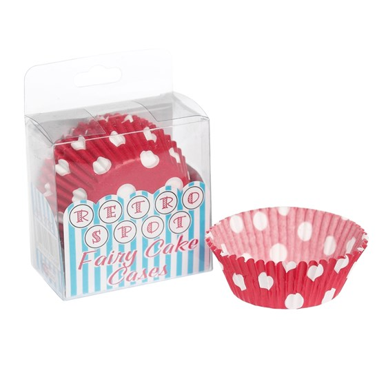 pack of 72 red retrospot cake cases