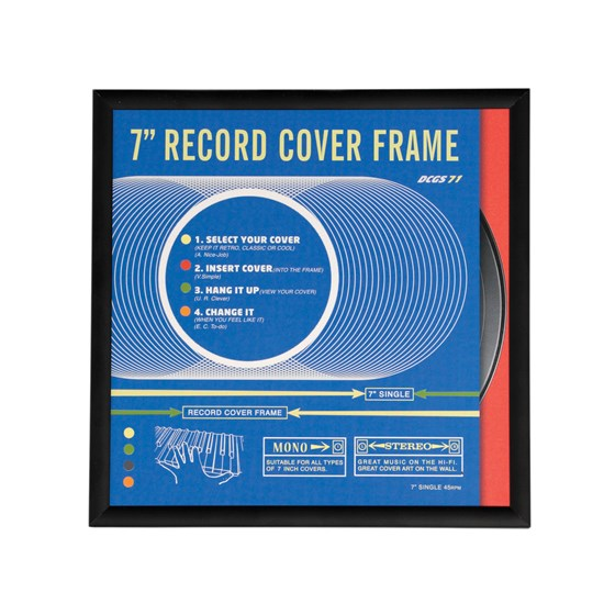 "record frame 7"" single size"