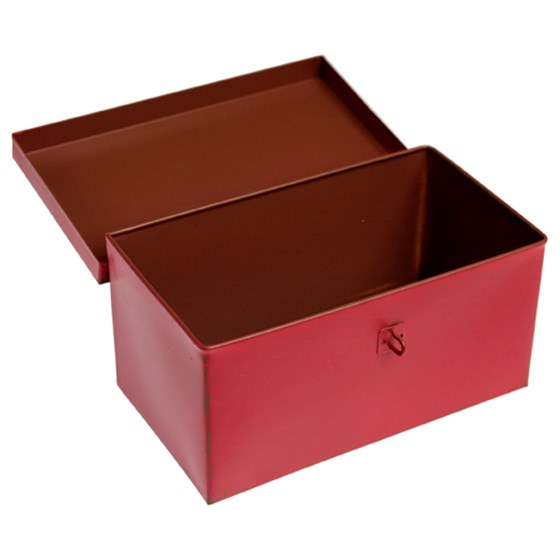 red metal box top secret