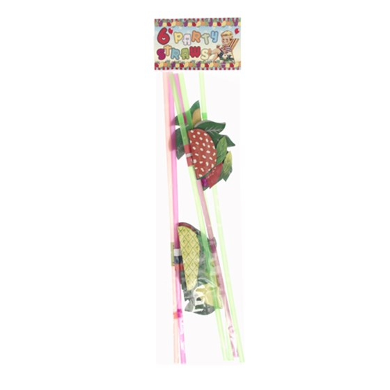 pack of 6 large fruit straws