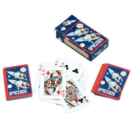 MINI PLAYING CARDS SPACEBOY