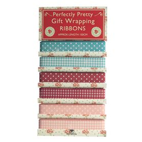 set of 6 ribbons perfectly pretty