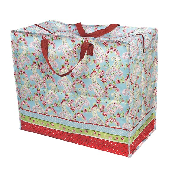 paisley park design jumbo storage bag