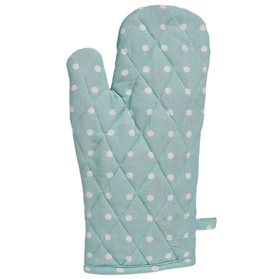 BLUE SPOT COTTON OVEN GLOVE