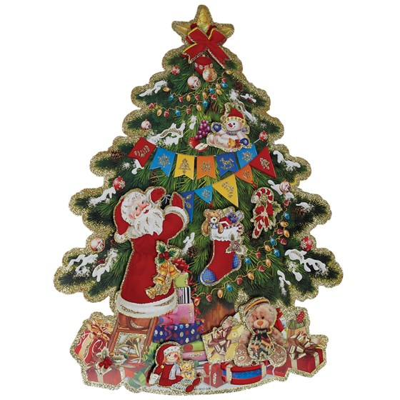 kitsch christmas tree decoration