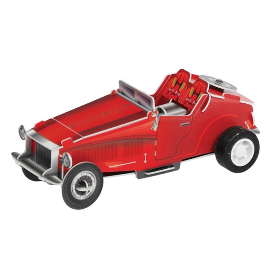 make your own wind up car red