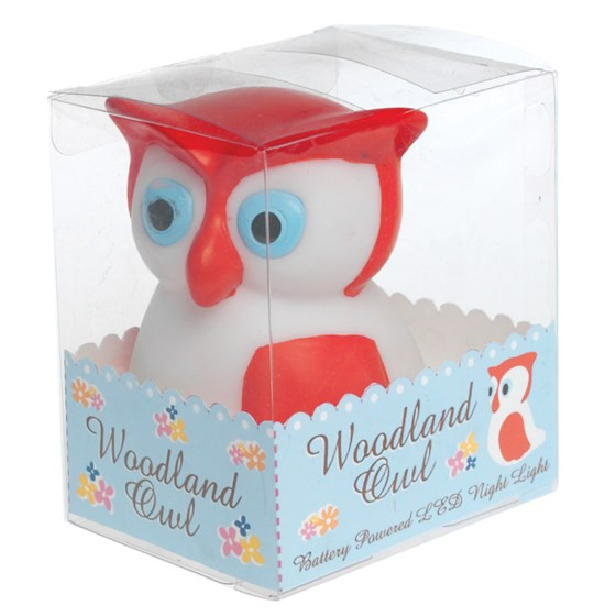 woodland owl night light