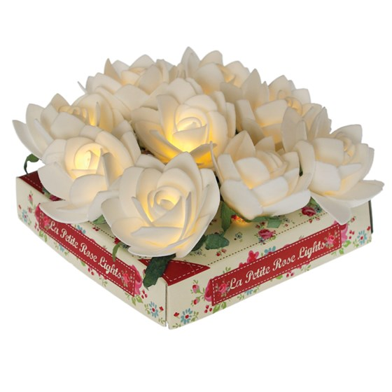 la petite rose garden 9 led lights