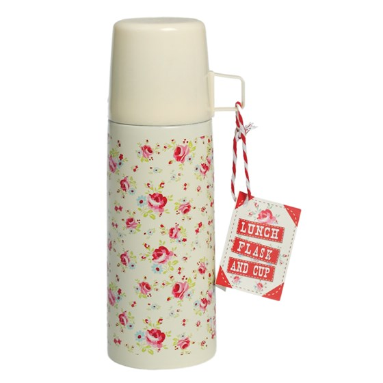 la petite rose flask and cup