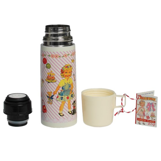 dress up doll flask and cup