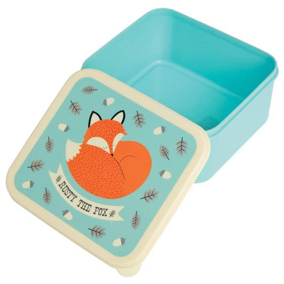 lunch box rusty the fox