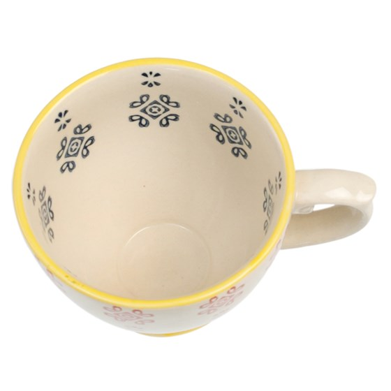 moorish tea cup medina blue tile