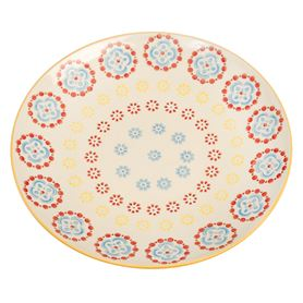 moorish plate cinnamon flower