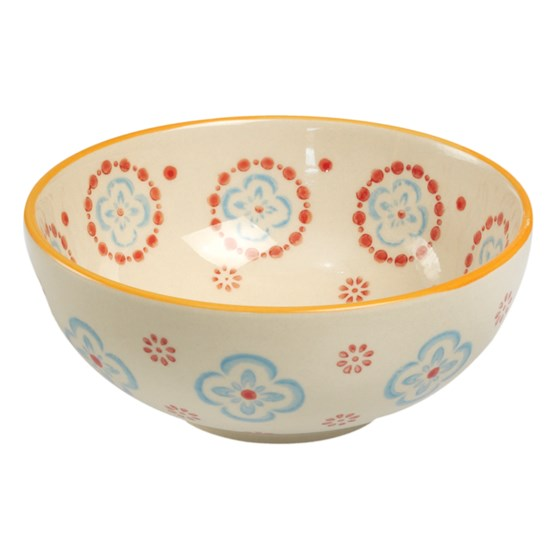 moorish cereal bowl cinnamon flower
