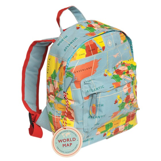 "kinderrucksack ""vintage world map"""