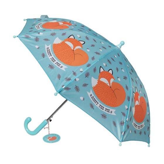 RUSTY THE FOX KIDS UMBRELLA
