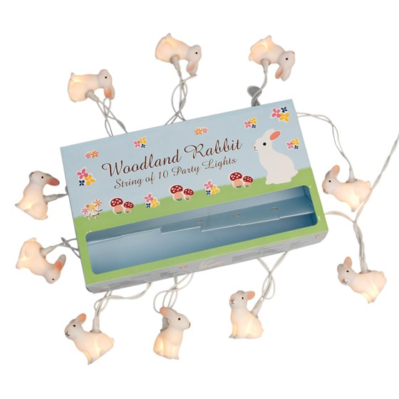 woodland rabbit lights with bs 3 pin plug