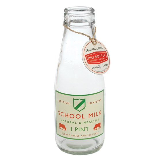 SCHOOL MILK PINT BOTTLE